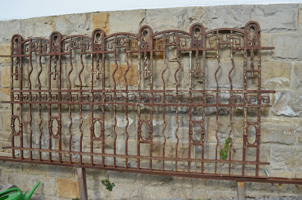 Eisenzaun antik stunning pola bausatz eisenzaun lnge mm neu with eisenzaun antik finest - Gartenzaun metall gebraucht ...